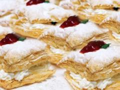 Cheesecake millefeuille