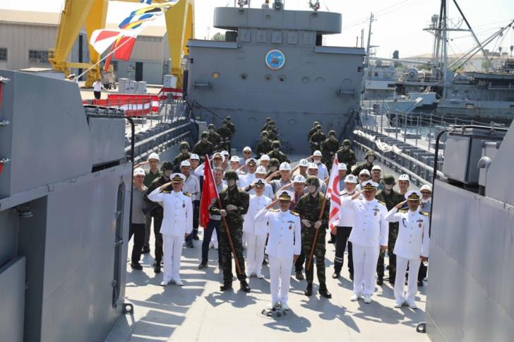 Landing Ship used in 1974 donated to the TRNC 16